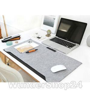 schreibunterlage schreibtisch computertisch maus unterlage felt filz 65 x 34 cm ebay. Black Bedroom Furniture Sets. Home Design Ideas