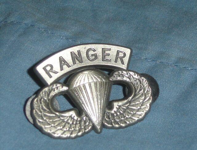 U.S.  Army Airborne Ranger Emblem Lapel Tie Pin