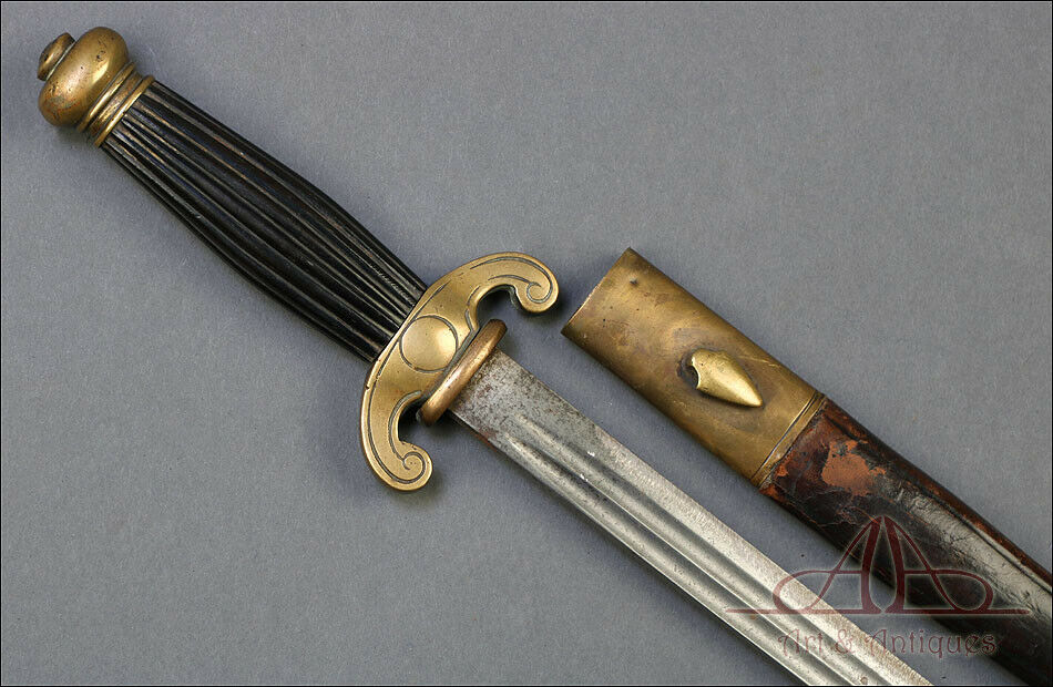 Antique Dagger of Administrative Officer of the French Navy. France,1860