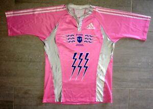 8f5b6496ca4f0 Rugby Maillot Adidas Stade Français Taille XL Shirt Jersey Paris ...