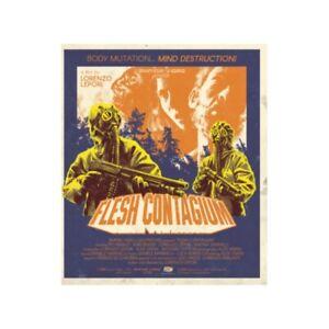 Flesh contagium - Limited Ed 100cp +CD SOUNDTRACK (HMBR019 - Bluray + CD) Nuovo