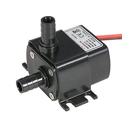 Anself Ultra-quiet Mini 4.8W DC12V Micro Brushless Water Oil Pump