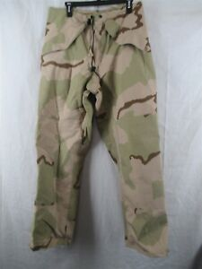 87ca5deff0d89 Cold/Wet Weather Gore-Tex Gore-Seam Pants Small Regular Desert Camo ...