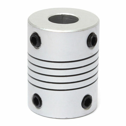 10mm Acoplador Acoplamiento flexible Motor Paso A Paso Cnc Impresora 3D 4 8 5 6.35
