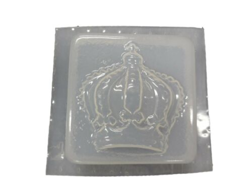 Decorative Crown Soap Mold 4711 Moldcreations QTY 2