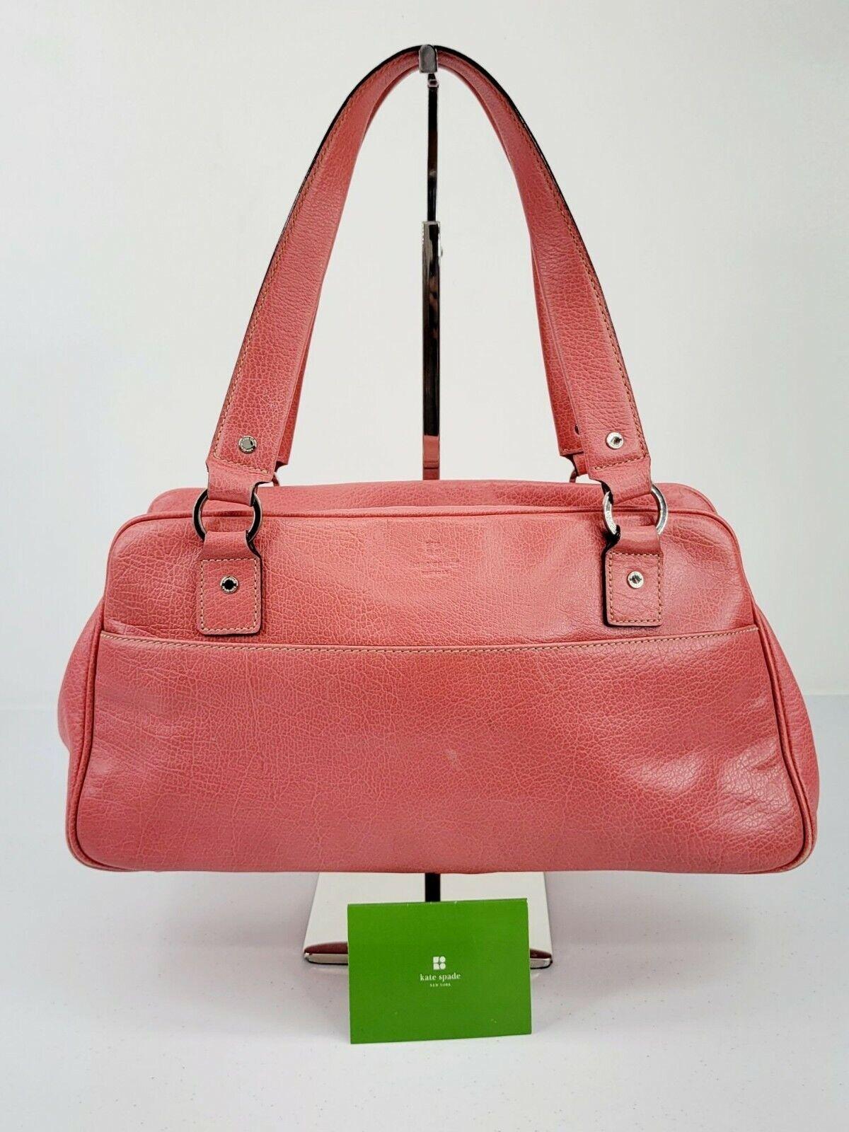 Kate Spade New York Bubblegum Pink Leather Satche… - image 1