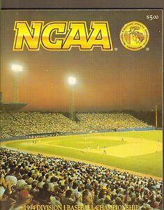 1994-NCAA-DIVISION-I-BASEBALL-CHAMPIONSHIP-program