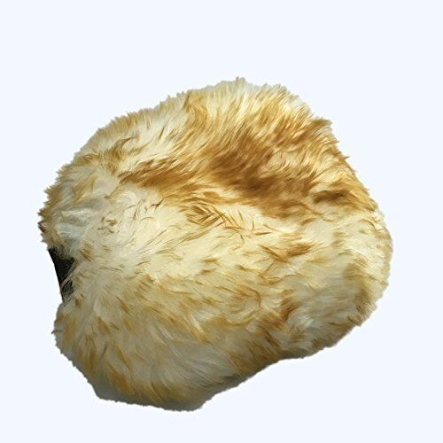 Dumi Super Quality Factory Price Two Side Sheepskin Car Wash Mitt Real Lambswool