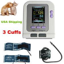 Vet Animal Digital Blood Pressure Heart Monitor Nibp Electronic Sphygmomanometer