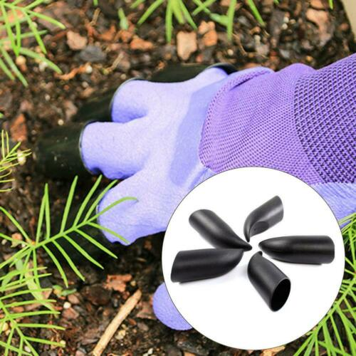 5pcs Plastic Claws Planting Gloves Gardening Excavation Hands Protective