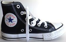 CONVERSE ALL STAR Chuck Taylor High Top Kids Tennis Shoes Black Childrens Sz 11