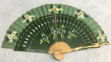 Antique Extremely Delicate Hand Painted Ladies Hand Fan Ships Free And Fast