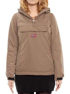 Dettagli su NAPAPIJRI RAINFOREST DONNA 13 MARRONE BEAR N0Y5KZN45 giacca invernale donna