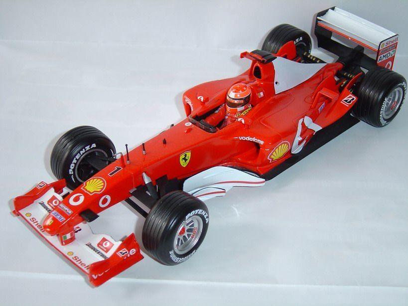 Ferrari F2003GA M.Schumacher World Champion 2003 1 18 B1023 HotWheels