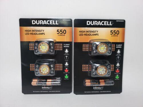 Lot de 4 DURACELL DEL projecteur 550 LM Piles incluses Météo Résistant