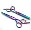 Professional-Salon-Hair-Cutting-Thinning-Scissors-Barber-Shears-Hairdressing-New miniature 2