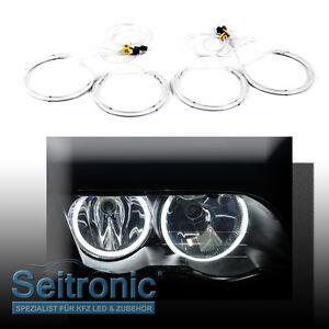 Angel-Eyes-para-bmw-e34-4x-CCFL-anillos-de-luz-de-estacionamiento-para-bmw-e34-top-seitronic-nuevo