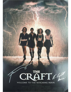 The Craft A2 Poster Signed by Fairuza Balk & Neve Campbell 100% Authentic + COA
