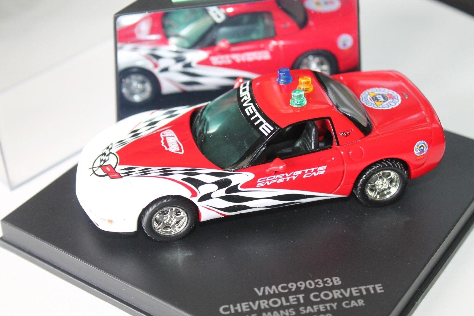 VITESSE  CHEVROLET Corvette  Le Mans SAFETY CAR 1999  1 43  Neuf dans sa boîte