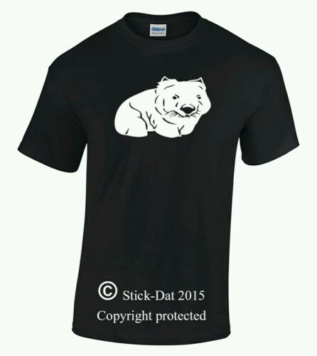 Cute wombat men/'s shirt native Australian wild life designed And Pressed aussie