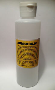AUDIOHOLIC-RECORD-CLEANING-FLUID-NEW-250ML-bottle-Audiophile-quality