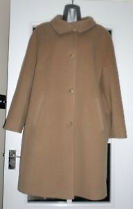 nogle beklædt 16 få uld Størrelse Fuldt Coat Marks Spencer And 75 Camel Brugt gange w4H1qXPz