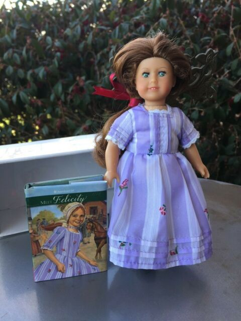 """American Girl FELICITY Brown Shoes from Meet Outfit~NEW~ 18/"""" Doll~Elizabeth"""