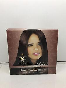 BRASIL CACAU BRAZILIAN KERATIN SMOOTHING TREATMENT 110ML KIT