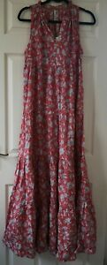 Pepe-Jeans-Women-039-s-Carola-Floral-Print-Maxi-Dress-Size-M-Medium-New-With-Tags