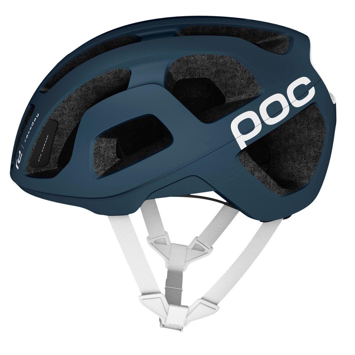 POC Octal Camino Bicicleta Casco-Azul Marino Negro, Pequeño (50-56cm)