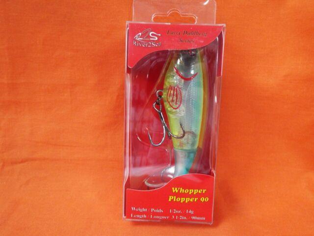 River2Sea Whopper Plopper 90 Larry Dahlberg Topwater Lure for sale online