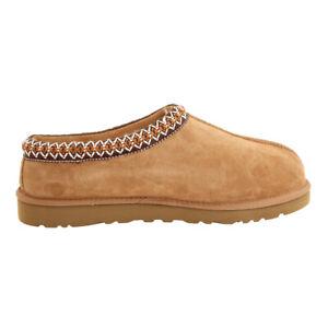 a7a3ce454ac Details about UGG Australia Men's Tasman Suede Slippers Style#5950 BLACK &  CHESTNUT SIZE 8-13
