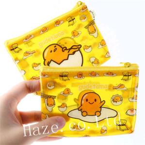 New-Gudetama-Lazy-Egg-PVC-Cute-Zipper-Pouch-Money-Coin-Purse-Hot