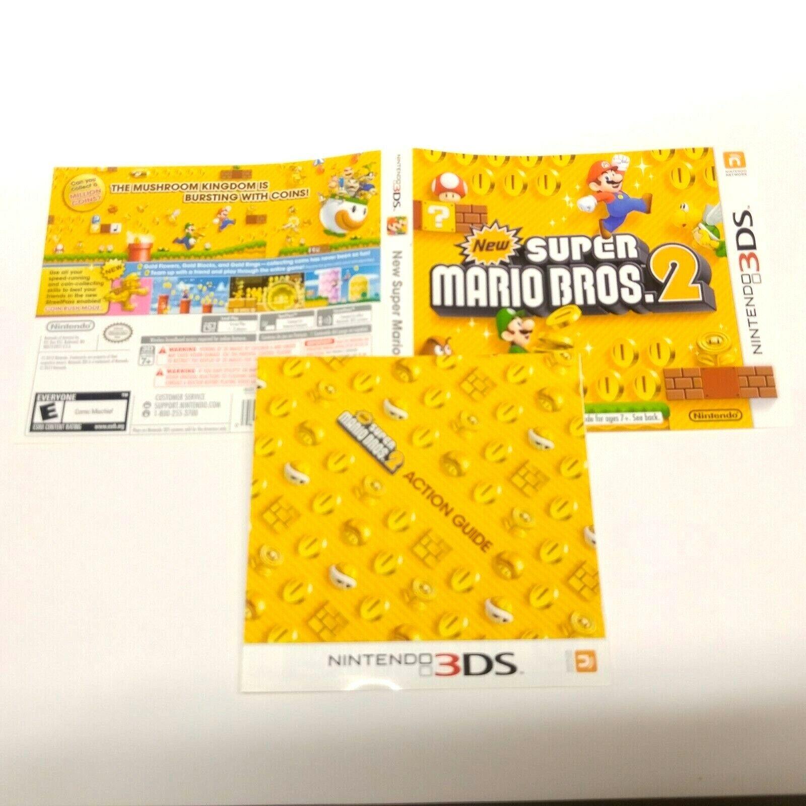 New Super Mario Bros  2 (Nintendo 3DS, 2012)