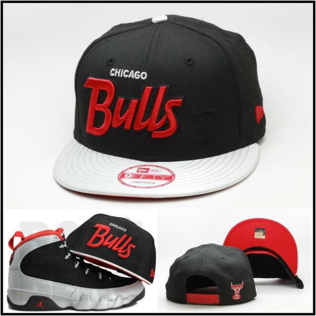 promo code cccae 8763d ... greece new era chicago bulls snapback hat for the air jordan 9 ix  johnny kilroy nba