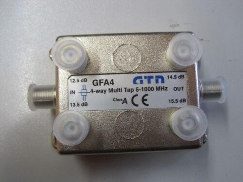 GTN 4 fach Abzweiger Multi Tap BK 5-1000 Mhz Class A 12,5-15,5 dB