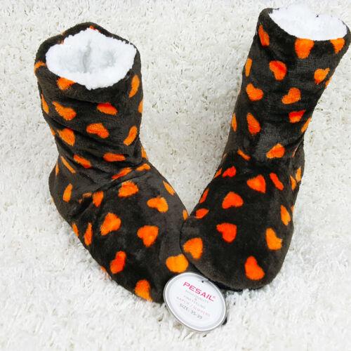 Damen Hausschuhe Pantoffeln Patschen Home Socks Kuschelhaus Schuhe Anti-Rutsch