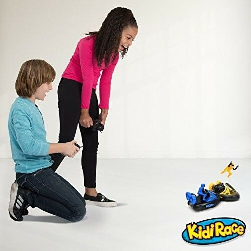 Kids Remote Radio Control Bumper Cars RC RC RC Set 2 Kids Toy Race Racing Boy Girl New fe359d