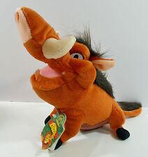 """Applause 11"""" Pumbaa Wart Hog Disneys Lion King Plush Stuffed 1990's Animal (27)"""