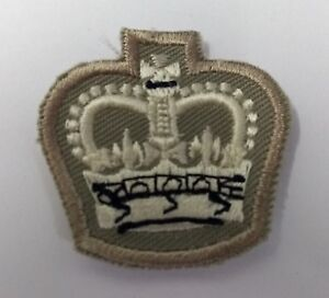Genuine-British-Army-No2-Warrant-Officers-Class-2-WO2-Staff-SGT-Patch-Crown
