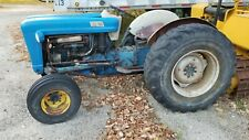 Vintage 1964 Gas Ford Tractor Model 4000 Power Steering Runs Great