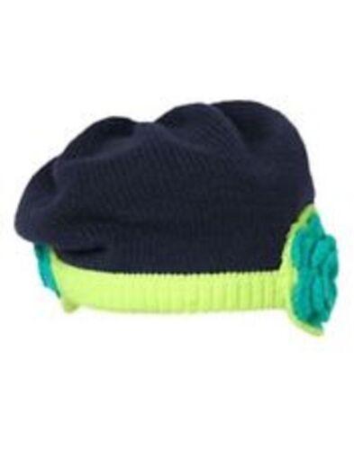 NWT Gymboree Girls Happy Bluebird Knit Hat Size 12-24M