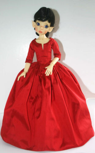 Outlander Claire Dress Doll Clothes Sewing Pattern 46cm Kaye Wiggs MSD BJD Dolls