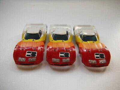 Aurora Afx Tyco Corvette Slot Car Body Lot Of 3 HO,**Blow Out**