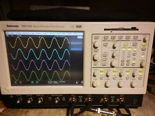 Tektronix Tds7104 1ghz 10gss Oscilloscope Ssd Opt 3m Jit Can Lin Cpm Pwr Sm