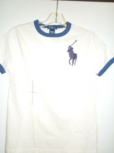 $19.50 NEW #323-155133 -ASST COLORS /& SIZES BOYS POLO BY RALPH LAUREN TEES