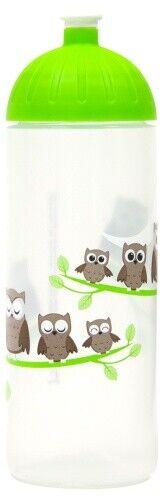 BPA-frei ISYbe Kinder-Trinkflasche auslaufsicher Eule 0,7L Kohlensäure geeig