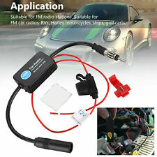 New Signal Antenna Aerial Amp Amplifier Booster For Car Auto Stereo Fm Am Radio