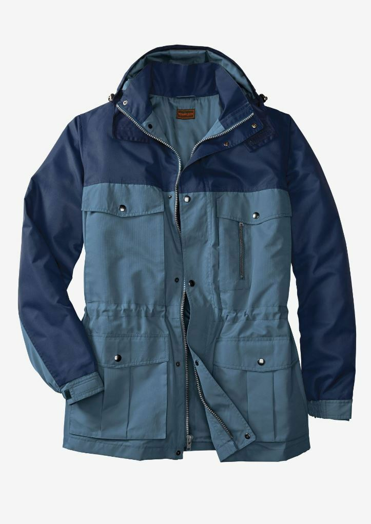 NWT MEN PLUS SIZE BIG AND TALL  Lightweight Expedition SPRING Parka  XL - 5XL