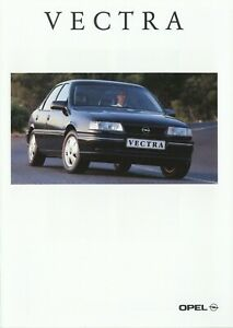 0867OPE-Opel-Vectra-Prospekt-1993-10-93-deutsche-Ausgabe-brochure-brosjyre-Auto